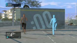 Test Nike + Kinect Training Xbox 360 - Screenshot 1