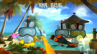 Test Rayman Contre Les Lapins Cretins Xbox 360 - Screenshot 11