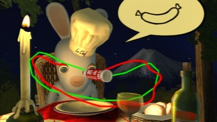 Test Rayman Contre Les Lapins Cretins Xbox 360 - Screenshot 17