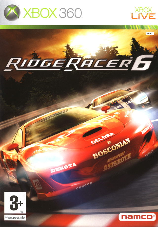 Ridge Racer 6 [PAL] [MULTI]