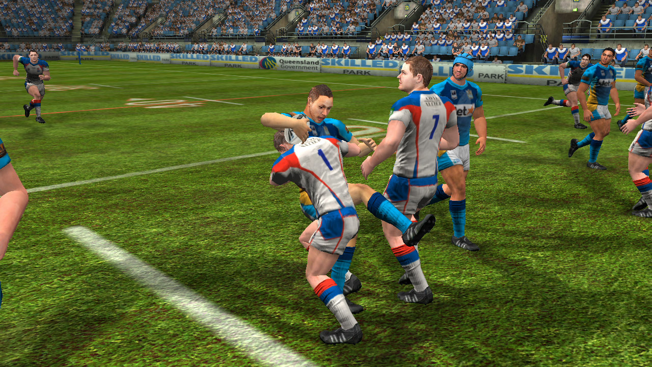 Screens Zimmer 8 angezeig: rugby league live 2 ps3