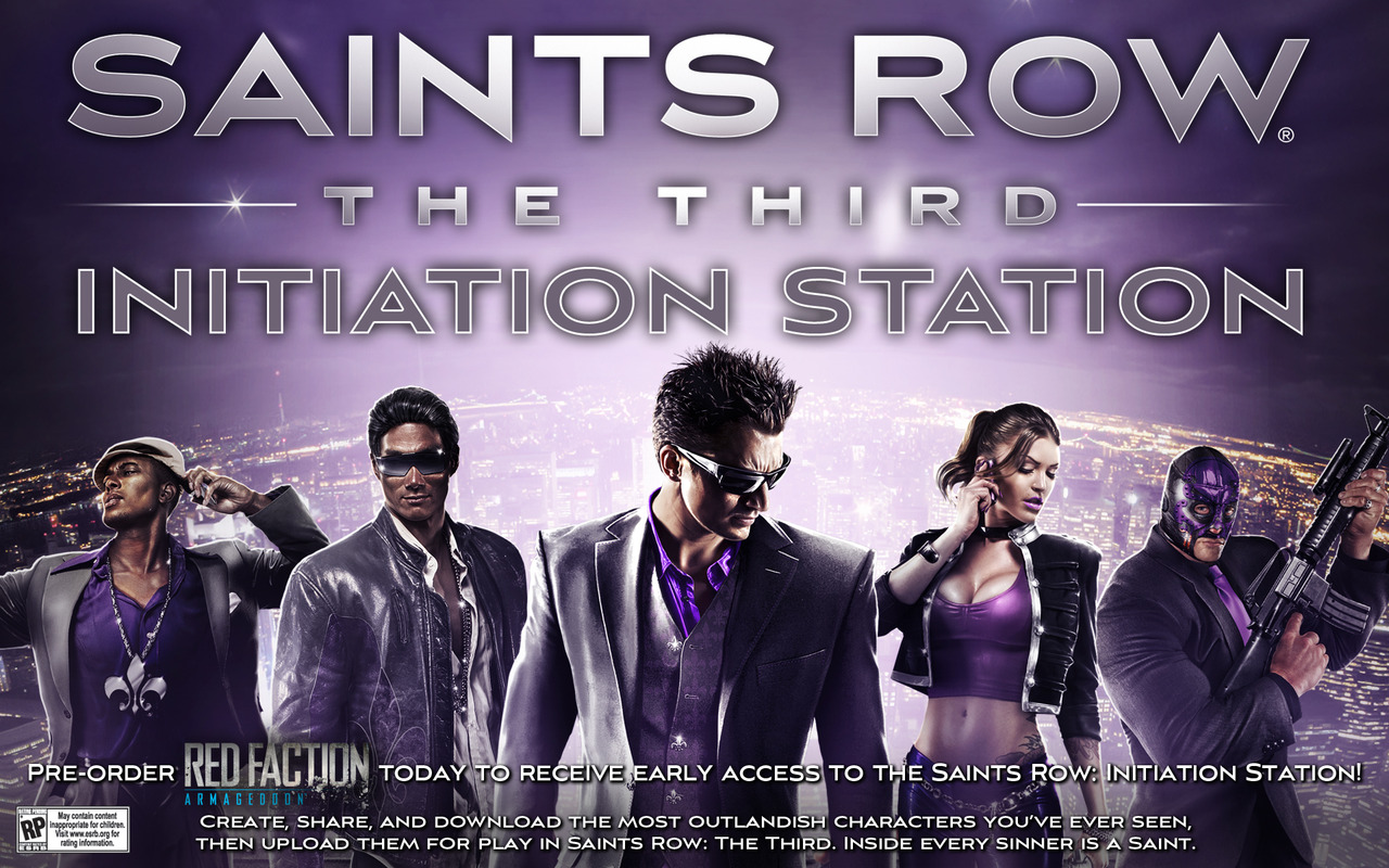 Saints Row The Third : l'éditeur de personnages en avance
