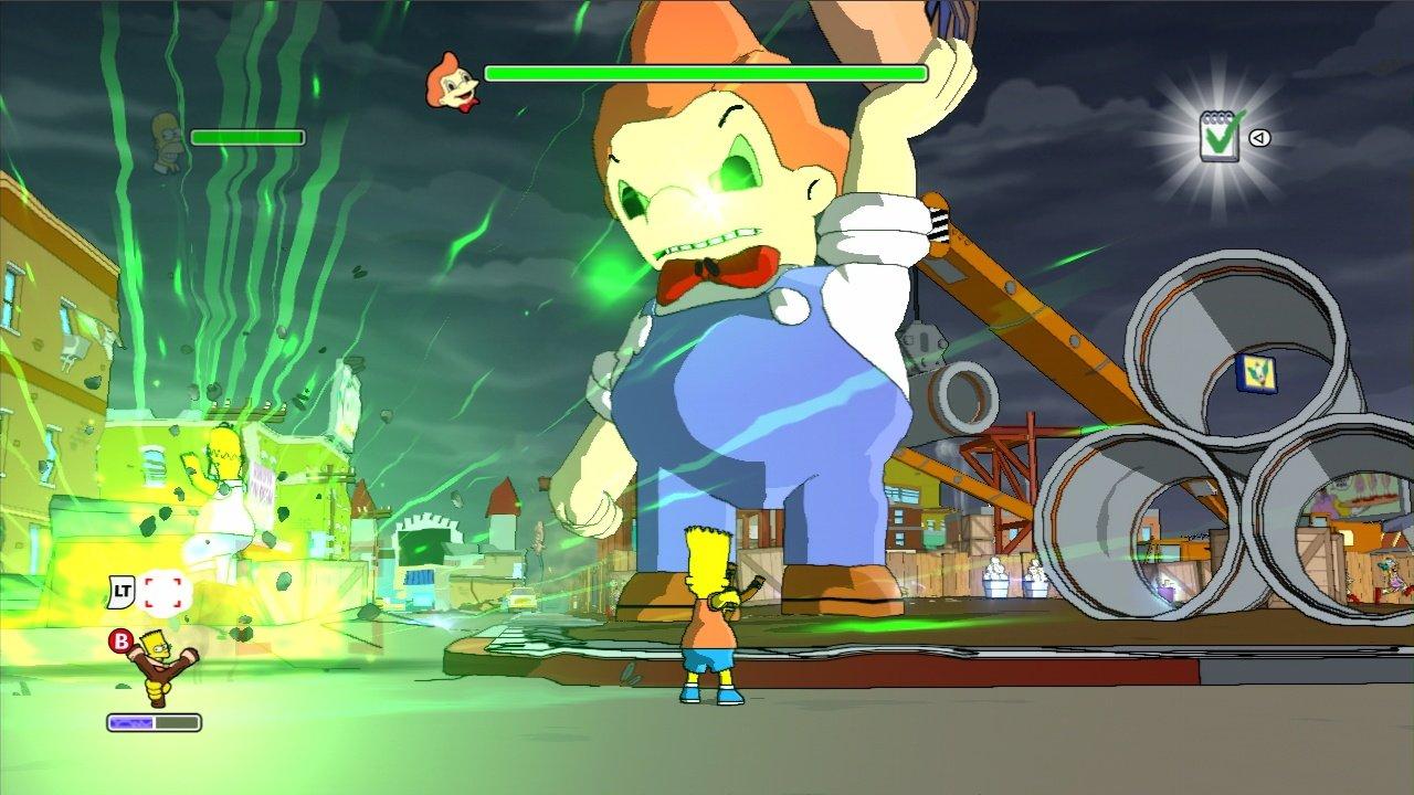 jeuxvideo.com Les Simpson : Le Jeu - Xbox 360 Image 65 sur 129