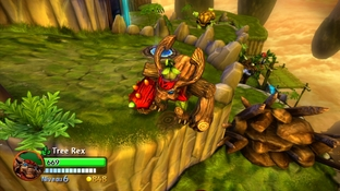 Test Skylanders Giants Xbox 360 - Screenshot 28