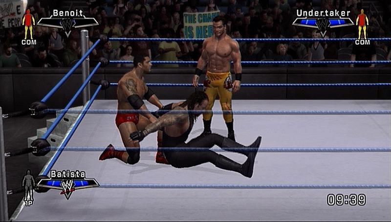لعبة المصارعة الأكثر واقعية للواقع Wwe Smack down vs. Raw 2007 Smvsx3090