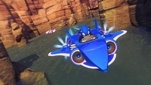 Pictures of Sonic & All Stars Racing Transformed