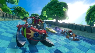 Aperçu Sonic All Stars Racing Transformed Xbox 360 - Screenshot 8