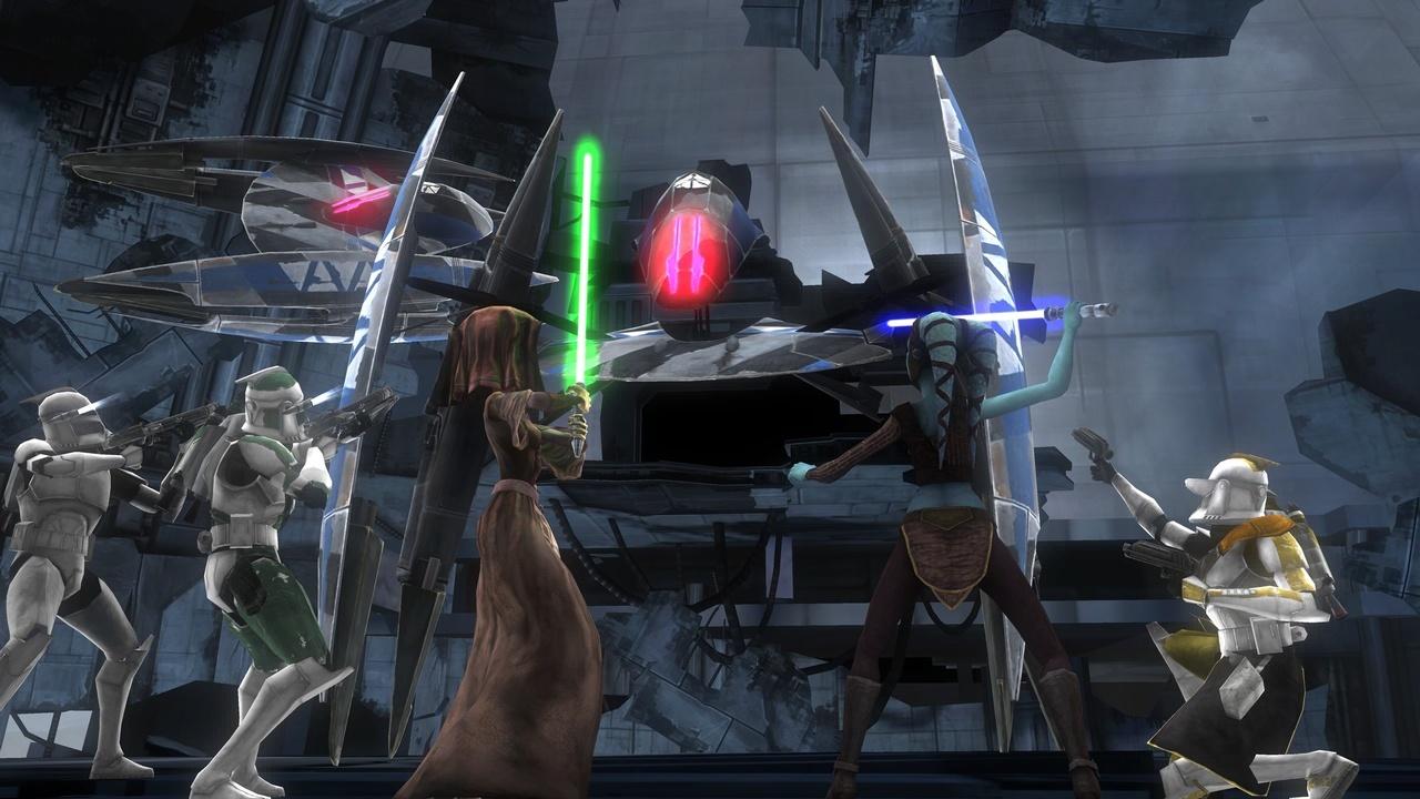 Images Star Wars The Clone Wars : Les Héros de la République Xbox