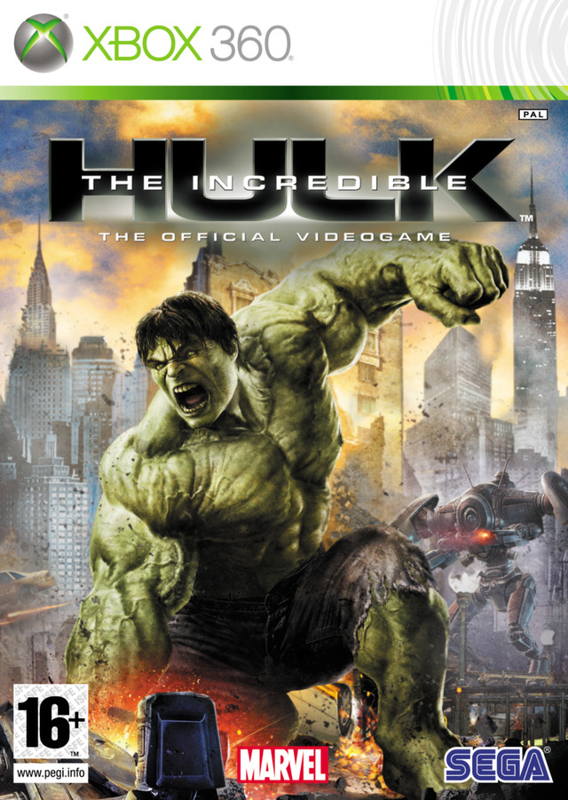 the incredible hulk sur xbox 360. Black Bedroom Furniture Sets. Home Design Ideas