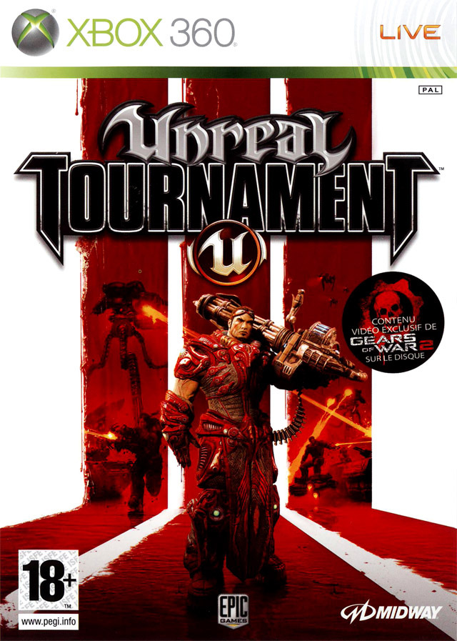 Unreal Tournament 3 REGION FREE MULTI5 XBOX360 REV0 preview 0