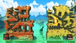 Worms Revolution  en peine sur Xbox 360