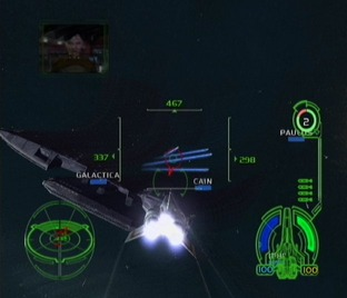 Test Battlestar Galactica Xbox - Screenshot 9