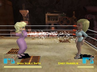 Test MTV Celebrity Deathmatch Xbox - Screenshot 1