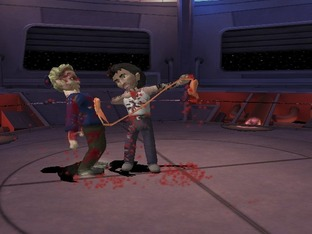 Test MTV Celebrity Deathmatch Xbox - Screenshot 2