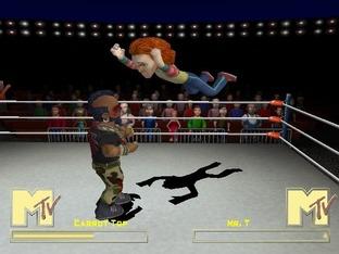 Test MTV Celebrity Deathmatch Xbox - Screenshot 3