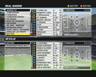 Test Club Football 2005 Xbox - Screenshot 40