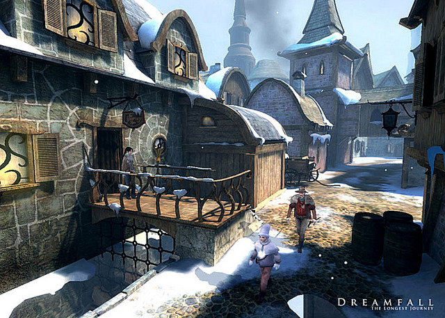 Images Dreamfall : The Longest Journey Xbox - 3
