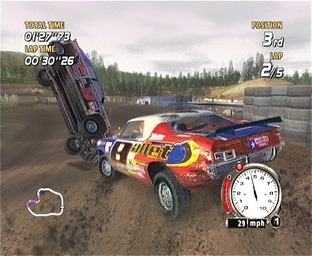 Test Flat Out Xbox - Screenshot 2