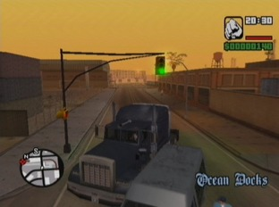 Test Grand Theft Auto : San Andreas Xbox - Screenshot 10