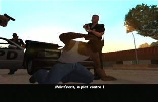 Test Grand Theft Auto : San Andreas Xbox - Screenshot 11