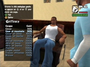 Test Grand Theft Auto : San Andreas Xbox - Screenshot 12
