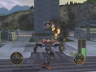 Test Mechassault Xbox - Screenshot 18