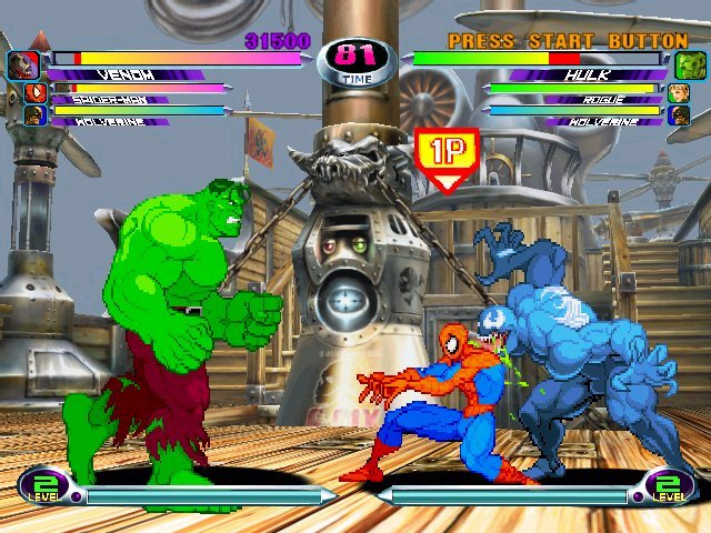 Images Marvel vs. Capcom 2 : New Age of Heroes Xbox - 3
