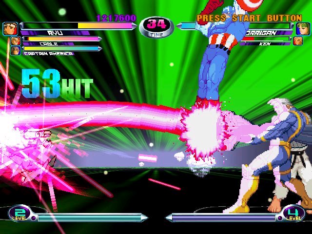 Images Marvel vs. Capcom 2 : New Age of Heroes Xbox - 4