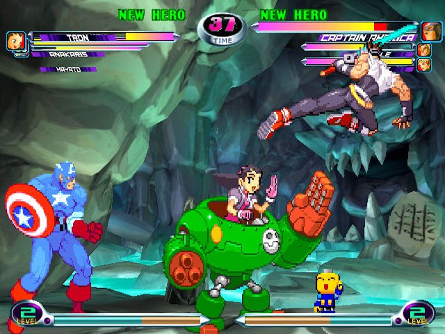 Images Marvel vs. Capcom 2 : New Age of Heroes Xbox - 12