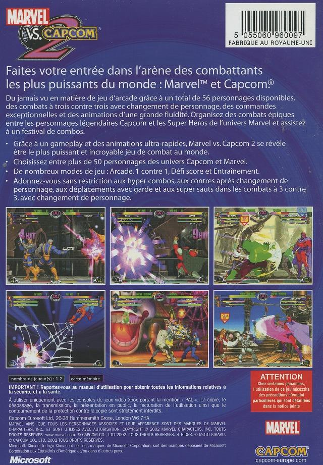 Images Marvel vs. Capcom 2 : New Age of Heroes Xbox - 2