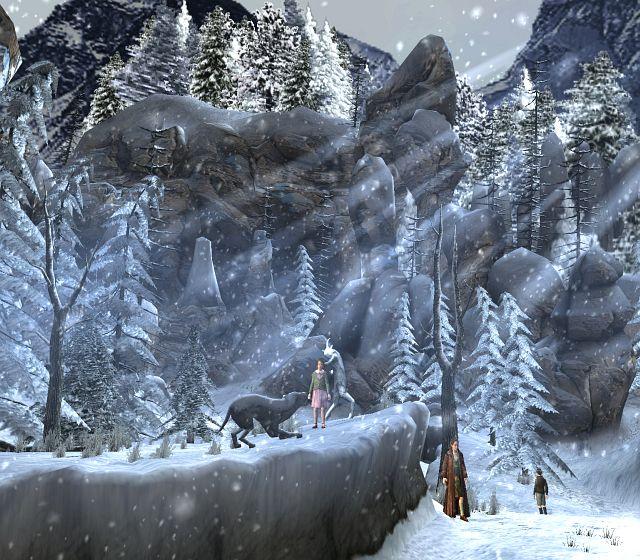Le Monde de Narnia : Chapitre 1 : Le Lion, la Sorcière Blanche et l