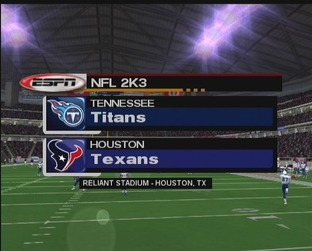 Test NFL 2k3 Xbox - Screenshot 9