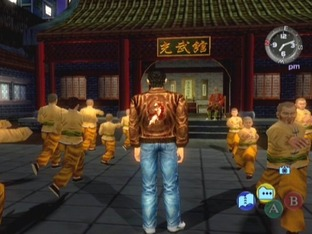 Test Shenmue 2 Xbox - Screenshot 1