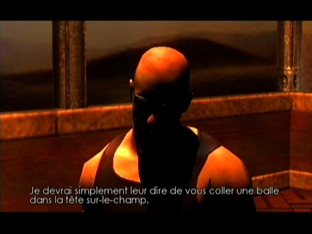 Test The Chronicles Of Riddick : Escape From Butcher Bay Xbox - Screenshot 39