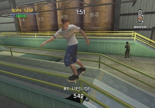 Test Tony Hawk's Pro Skater 3 Xbox - Screenshot 9