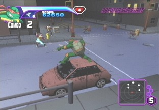 Test Teenage Mutant Ninja Turtles Xbox - Screenshot 1