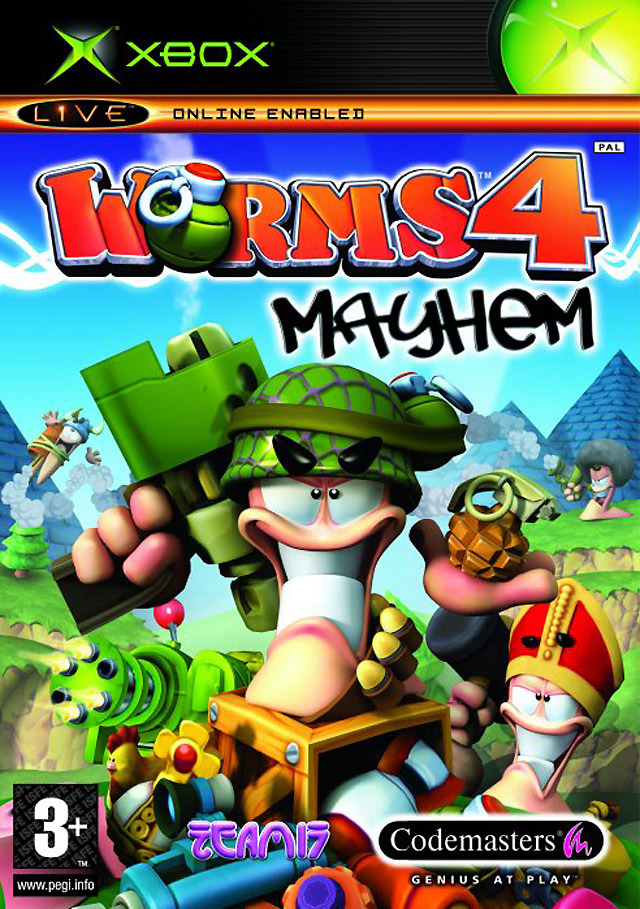 Images Worms 4 : Mayhem Xbox - 1