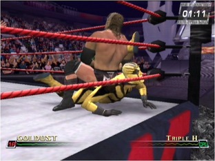 Test WWE Raw 2 Xbox - Screenshot 2