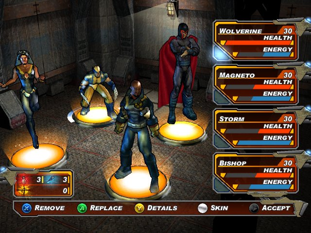 X-Men Legends II : L'Avenement d'Apocalypse