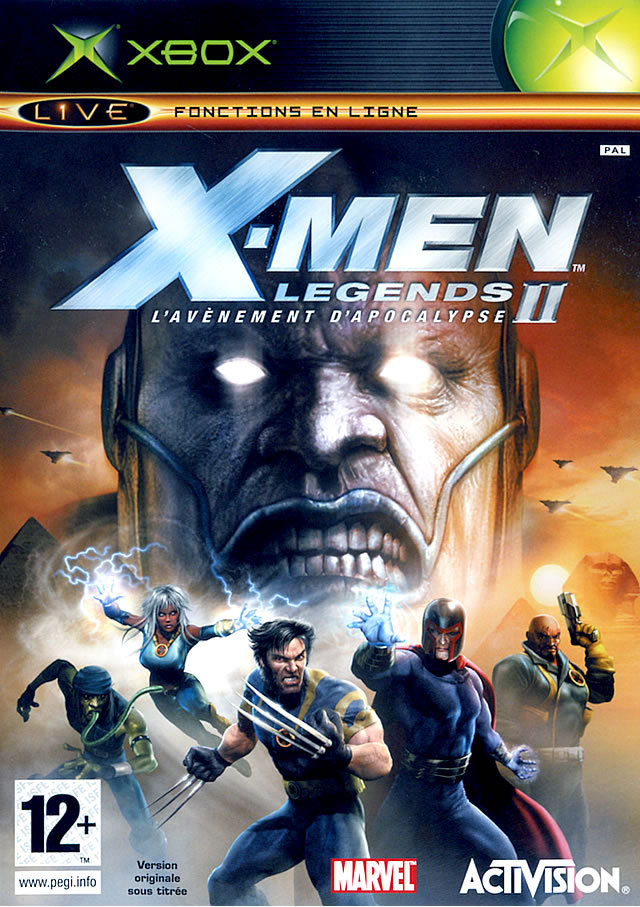 X-Men Legends II : L'Avenement d'Apocalypse sur Xbox - jeuxvideo.com
