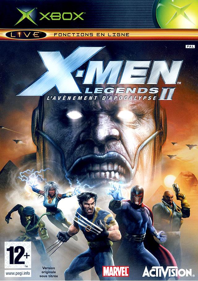 X-Men Legends II : L'Avenement d'Apocalypse sur Xbox - jeuxvideo.com