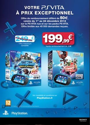 PS Vita : Une réduction alléchante en décembre ?