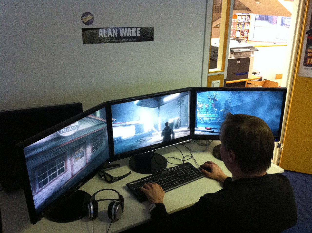 Alan Wake Plus Grand Et Plus Profond Sur Pc Actualit 233 S