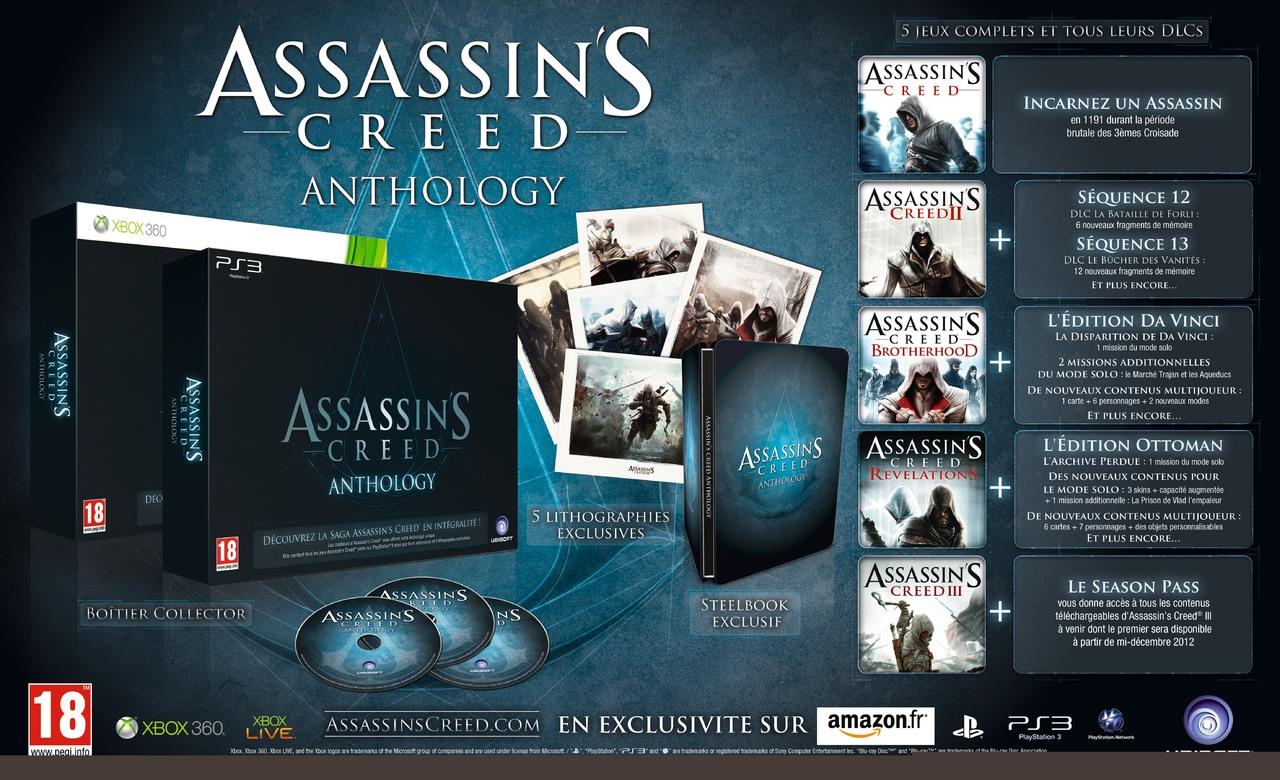 Ubisoft confirme Assassin's Creed Anthology