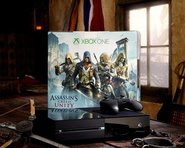 Un pack Assassin's Creed Unity pour la Xbox One. Assassinscreedc_2315_final