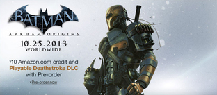 Batman Arkham Origins : Deathstroke jouable...
