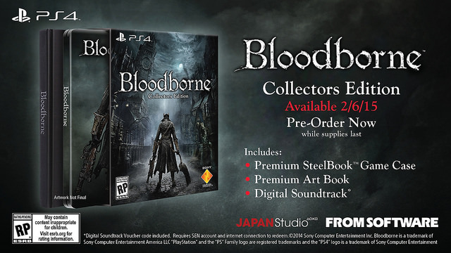 Playstation 4 / XboxOne Bloodborne-2