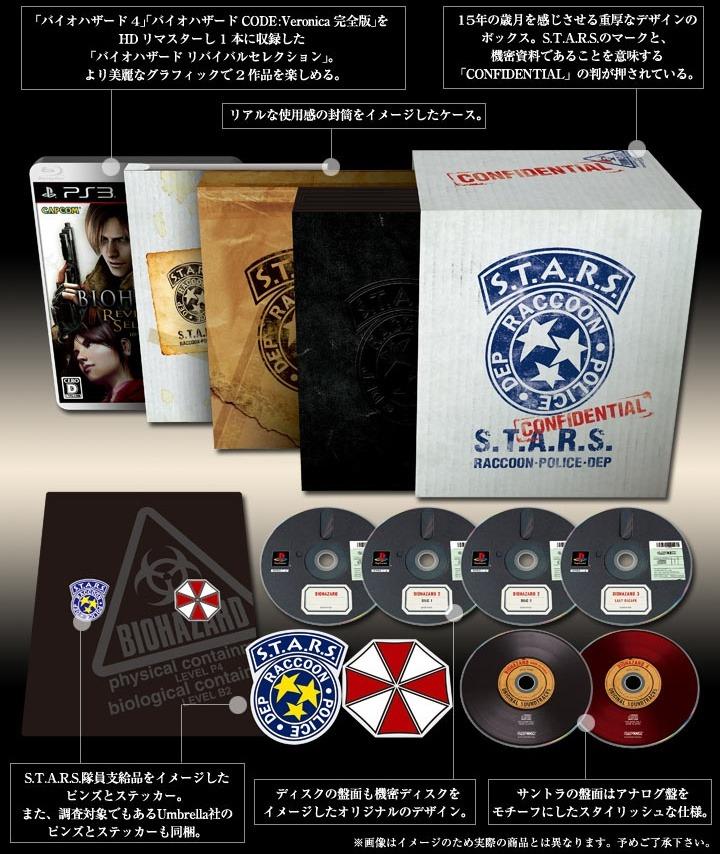 Resident Evil 15ème anniversaire Capcom_15_anniversaire