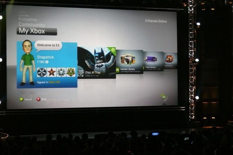 une nouvelle interface