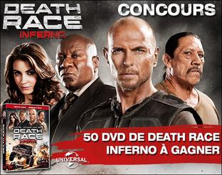 Résultats du concours Death Race Inferno